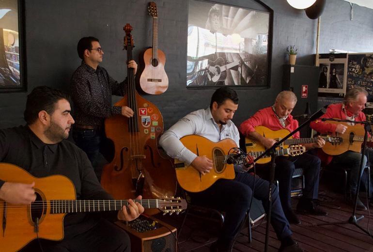 Amati Schmitt All Star Quintet