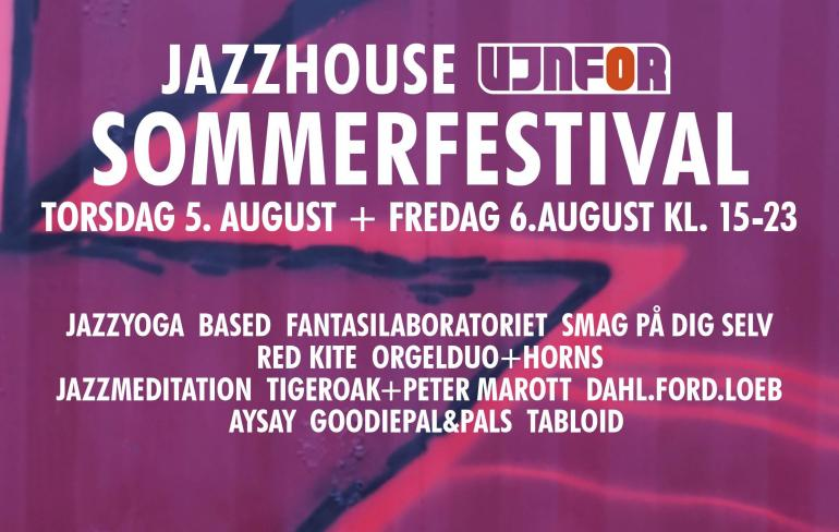 JazzHouse UJNFOR festival